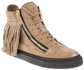 Giuseppe Zanotti Design moccasin hi-top sneaker