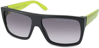 Marc by Marc Jacobs Large Square Acetatae Frame Sunglasses $199 thestylecure.com