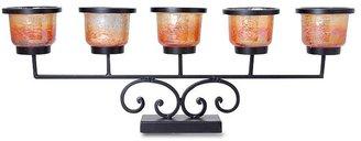 San miguel rustica votive centerpiece candleholder