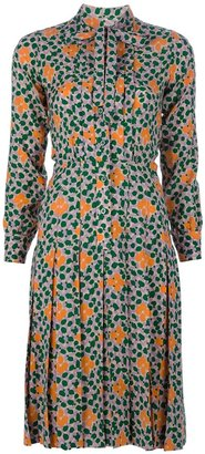 Yves Saint Laurent Vintage flower print dress