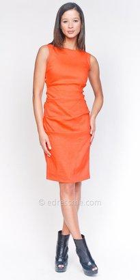 Nicole Miller Boatneck Tangerine Day Dresses