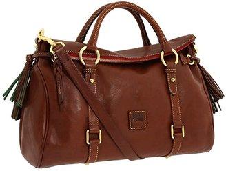 Dooney & Bourke Florentine Vachetta Satchel (Chestnut) Handbags