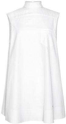 Alexander Wang Back To Front Sleeveless Mens Shirt Dress With Skirt