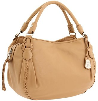 Cole Haan McKenzie Rounded Satchel (Sandalwood) - Bags and Luggage