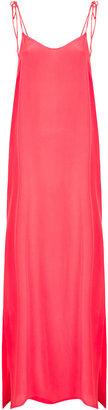 Topshop Scoop Back Maxi Slip Dress