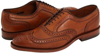 Allen Edmonds McAllister (Walnut Calf) Men's Lace Up Wing Tip Shoes