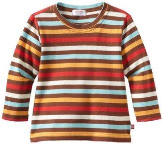 Zutano Boys 2-7 Five Color Stripe Long Sleeve Tee