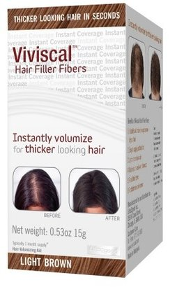 Viviscal Hair Filler Fibers Light Brown