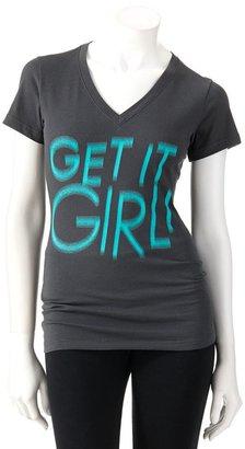"""Nike dri-fit """"get it girl"""" tee"""