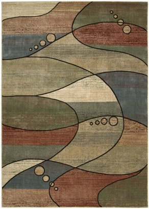 Nourison Expressions XP06 Multicolored Rectangle Rug