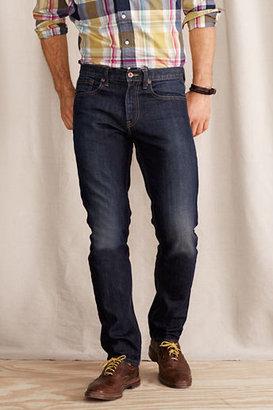 Lands' End Canvas Men's 608 Slim Fit Jean – Weathered Wash