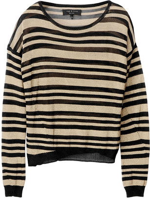 Rag and Bone Gansevoort Striped Top