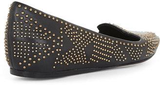 BCBGMAXAZRIA Tille Studded Loafer Flat