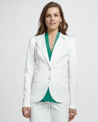 Rachel Zoe Bryce High-Collar Jacket