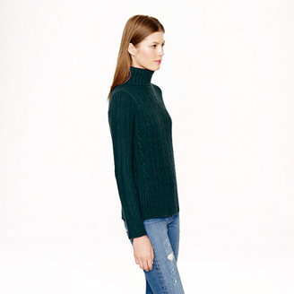 Cambridge Silversmiths cable chunky turtleneck sweater