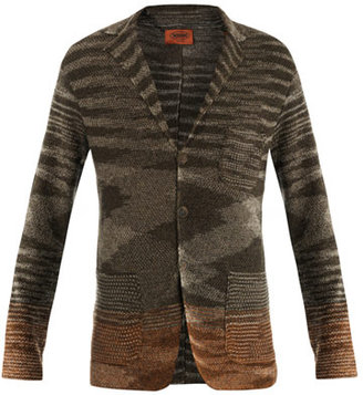 Missoni Linen-cotton knitted jacket