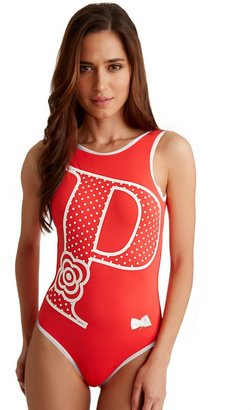 Figleaves PPQ For 50's Polka Swimsuit
