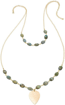 Heather Hawkins Layered Lotus Necklace - Multiple Colors