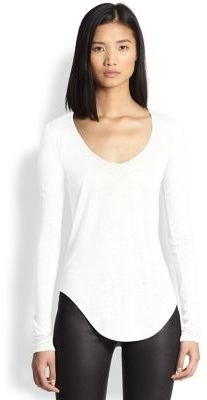 Helmut Lang Kinetic Long-Sleeve Jersey Tee