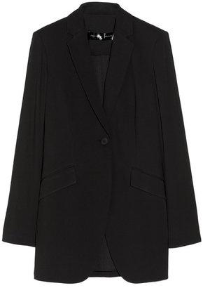 Theyskens' Theory Fabby oversized crepe blazer