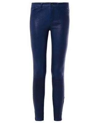 J Brand L8001 mid-rise leather trousers