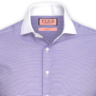 Thomas Pink Godshill Stripe Shirt - Double Cuff