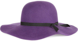 Helene Berman Wide-brimmed wool-felt hat