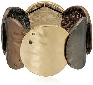 Kenneth Cole New York Tri-Tone Stretch Bracelet