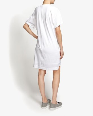 Helmut Lang Pact Graphic Jersey Dress