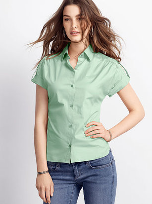 Victoria's Secret Poplin Tabbed Shirt