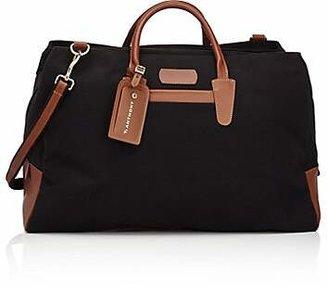 Anthony Logistics For Men T. Men's Canvas & Leather Weekender Bag - Black