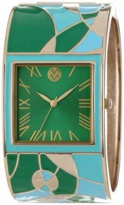 Macbeth Women's MBW042 Multi-Colored Bangle Watch