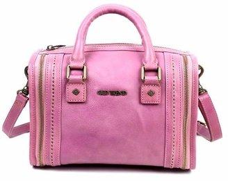 Old Trend Mini Trunk Leather Crossbody Bag