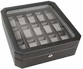 Wolf Viceroy 15-Piece Watch Storage Box