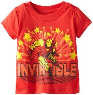 Iron Man Ironman Baby-Boys Infant Invincible Tee