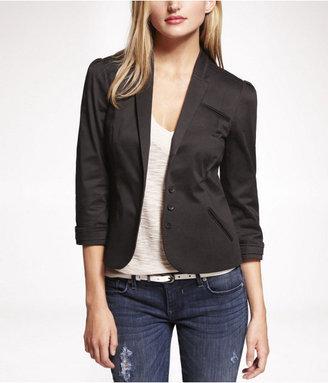 Express Pleated Sleeve Jacket