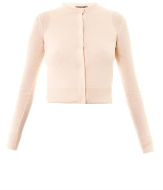 Tomas Maier Baby cashmere-knit cardigan twin-set