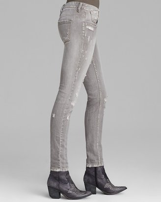 Free People Jeans - Meg's Denim Destroyed Relaxed Skinny in Copenhagen