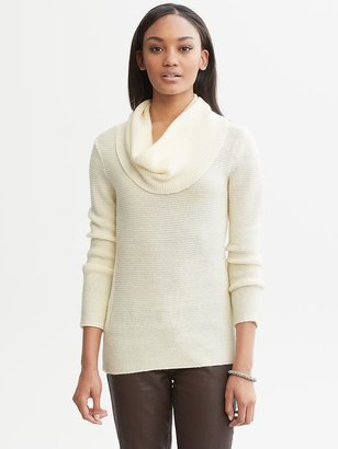 Banana Republic Link-stitch cowl neck
