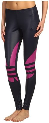 adidas Liquid Legging (Legend Ink/Vivid Pink) - Apparel