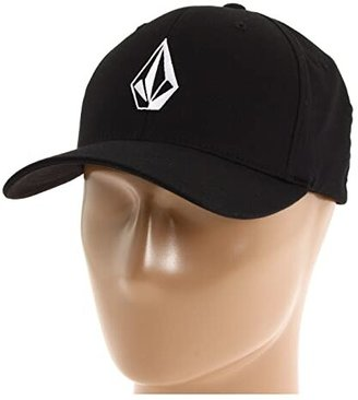 Volcom Full Stone X-Fittm FlexFit(r) (Black) Baseball Caps