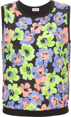 Moschino floral print vest top
