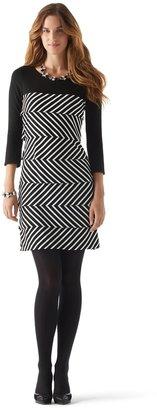 White House Black Market Tiered Jersey Dress