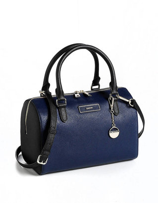 DKNY Saffiano Leather Satchel Bag