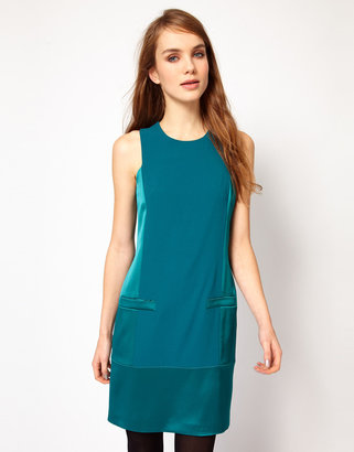 French Connection Block Shift Dress