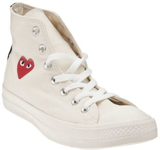 Comme des Garcons hi top sneaker