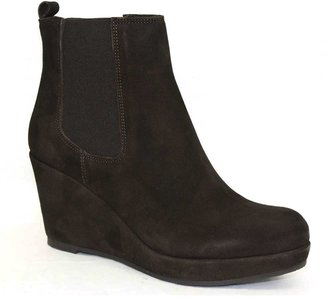 """Cordani Lamour"""" Brown Suede Wedge Ankle Boot"""