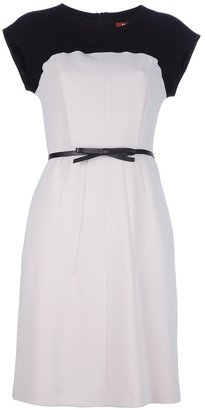 Max Mara Studio cap sleeve dress