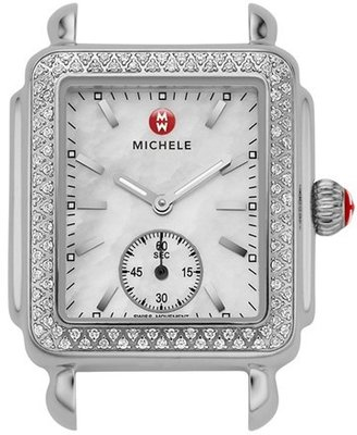 Women's Michele Deco 16 Diamond Watch Head, 29Mm X 31Mm $1,595 thestylecure.com