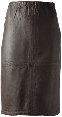 Humanoid 'Wamp Washed Skin' skirt